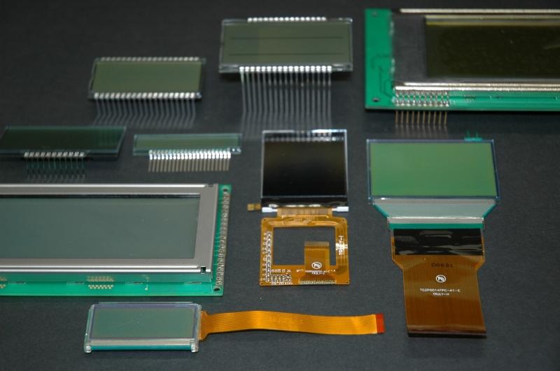 液晶モジュール・液晶パネル、カラーTFT液晶、有機EL、OLED、無機EL、透過透明ディスプレイ、電子ペーパーなど小型表示ディスプレイの専門社